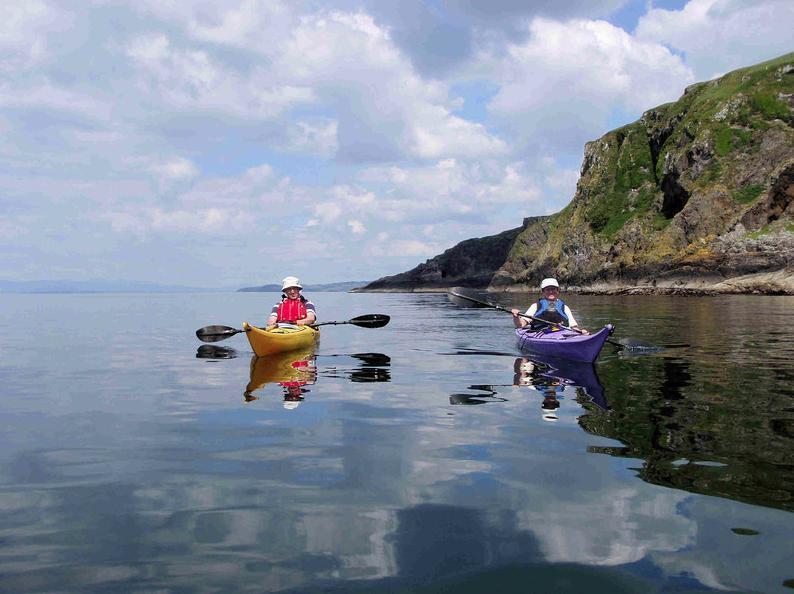 Sea Kayaking with Sea Kayak Scotland